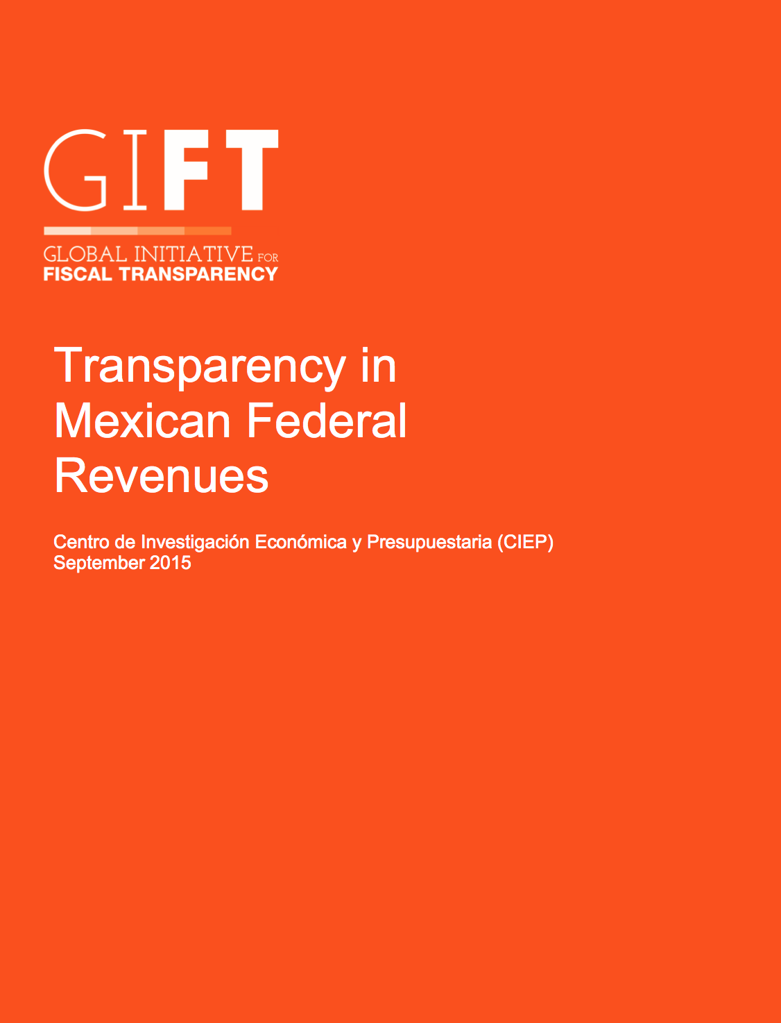 Transparency in Mexican Federal Revenues