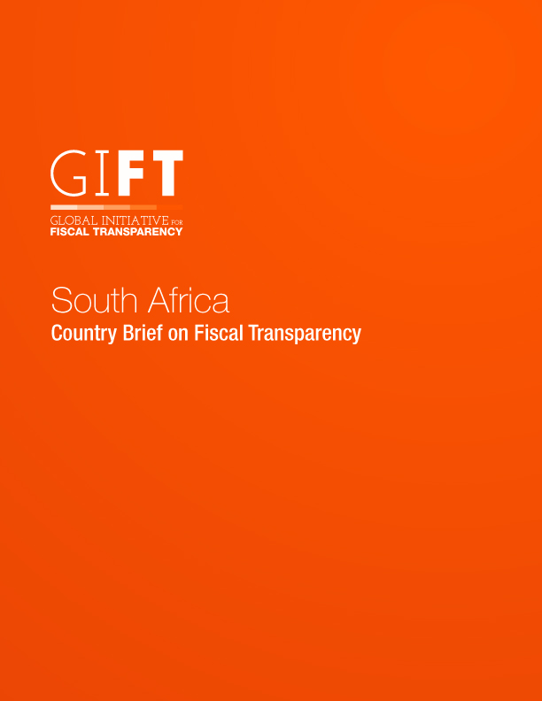 South Africa - Country Brief on Fiscal Transparency
