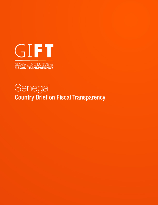 Senegal - Country Brief on Fiscal Transparency