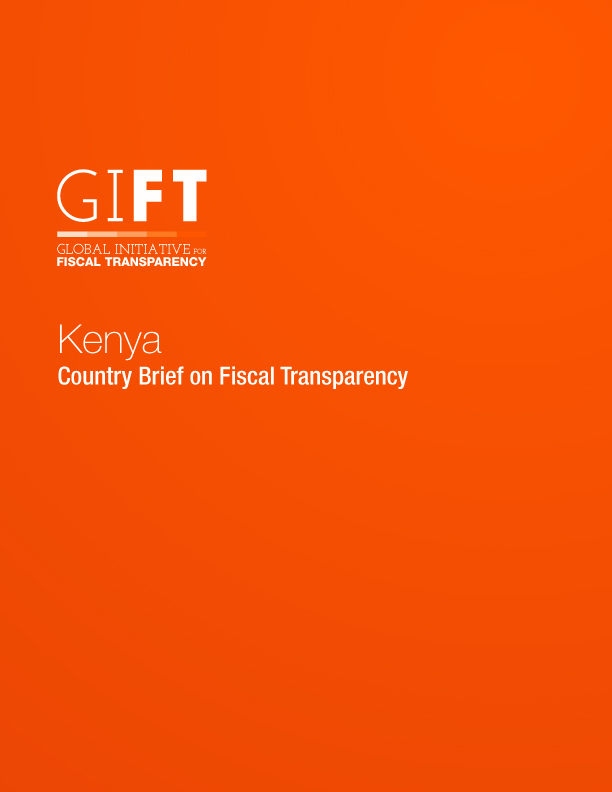 Kenya - Country Brief on Fiscal Transparency