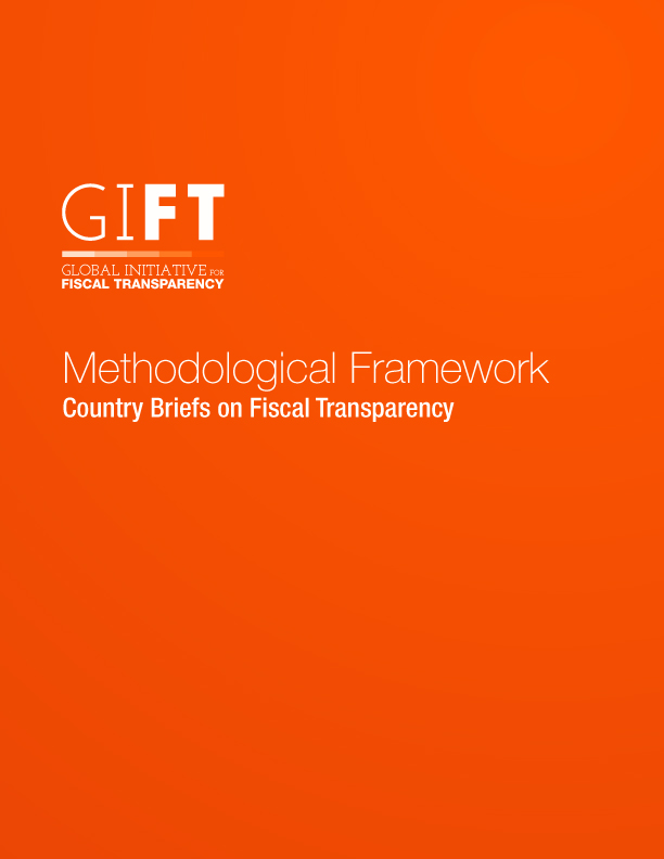 Methodological Framework: Country Briefs on Fiscal Transparency