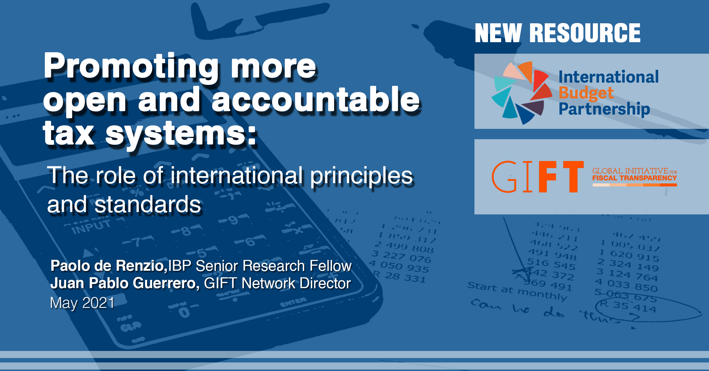 Promoting more open and accountable tax systems