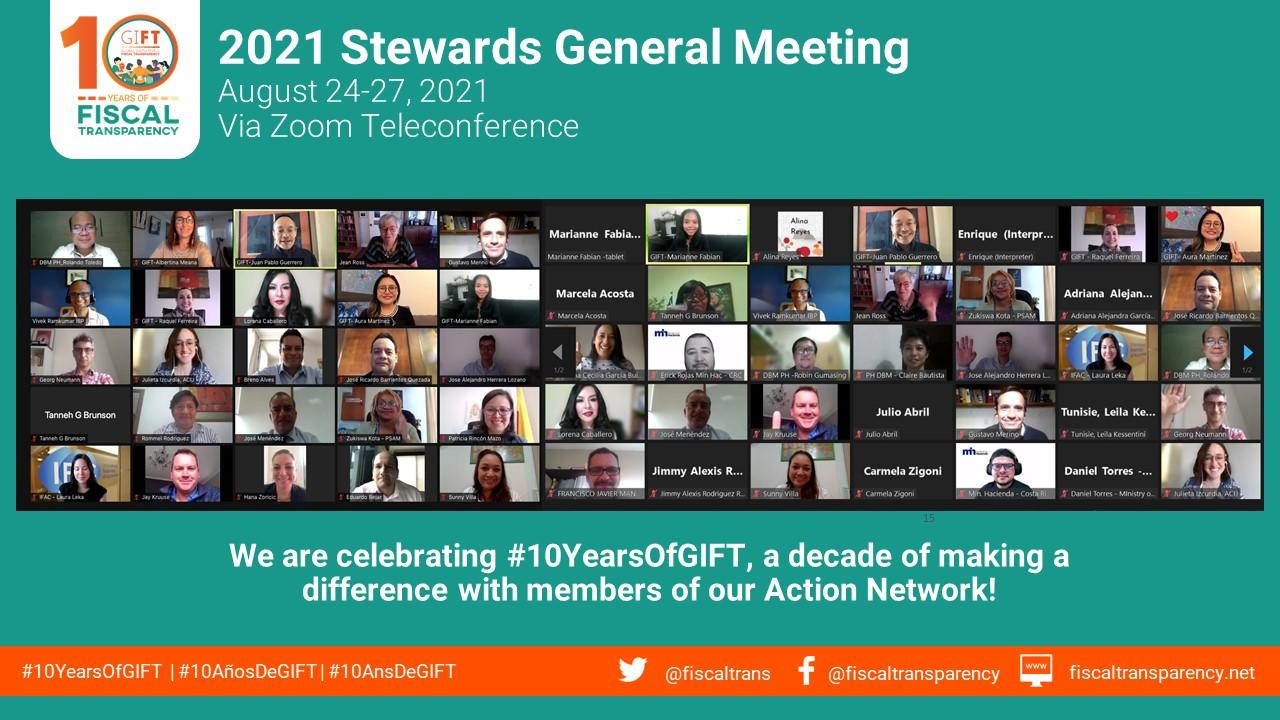 2021 GIFT Stewards General Meeting